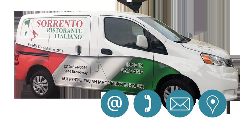 Sorrento's Catering Van