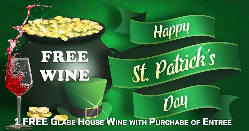 St Patrick's Day Promotion