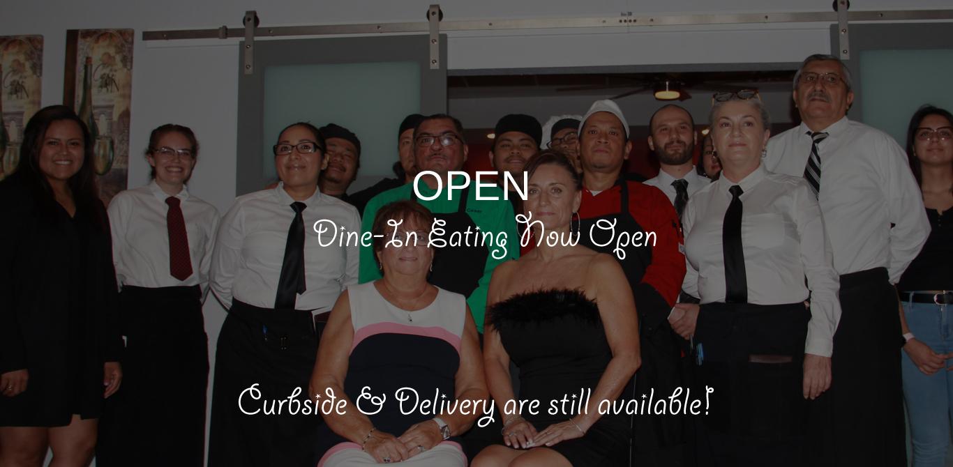 Dine-In Open